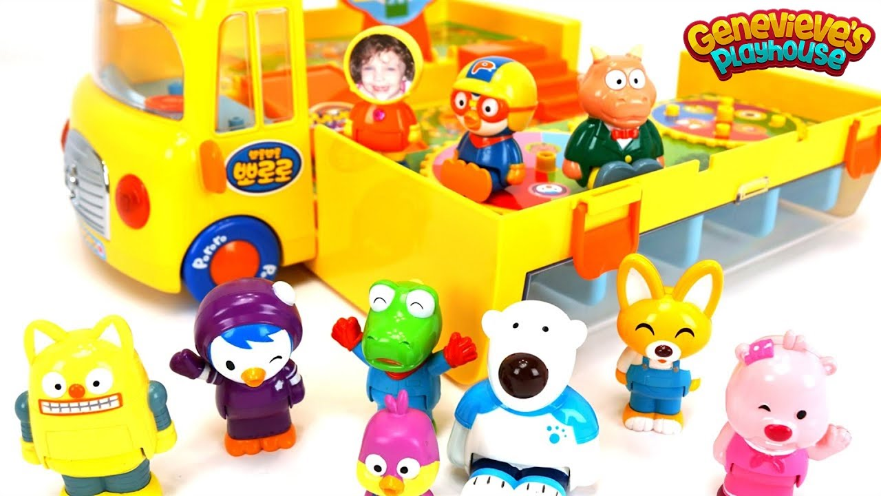 Educational Toys For Kids With Pororo Lego Duplo Blocks