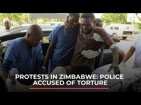 Protests in Zimbabwe: police accused of torture