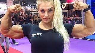 Impressive Female Fitness Athlete - IFBB Pro Sandra Jokic