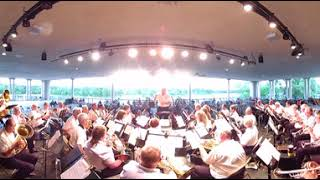 SOUSA: 'King Cotton' - Robbinsdale City Band (360 Video)