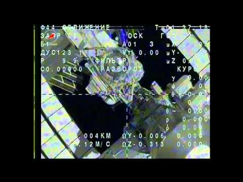 Expedition 39 Soyuz Undocks from Station #Nasa #Iss #Roscosmos