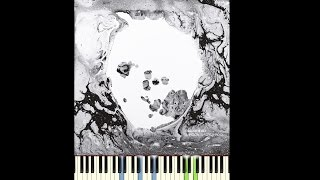 radiohead true love waits piano cover a moon shaped pool version