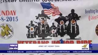 PHÓNG SỰ ĐẶC BIỆT: Buổi diễn hành môtô nhân ngày Lễ Cựu Chiến Binh