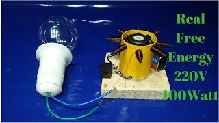 Video how to make a generator with dc motor and copper wire output 220 volt 100watt real download MP3, 3GP, MP4, WEBM, AVI, FLV Mei 2018
