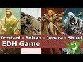 Trostani vs Seizan vs Jenara vs Shirei EDH / CMDR game play for Magic: The Gathering