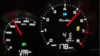 Porsche Cayenne Turbo acceleration 0-100 km/h in 4,16 sek