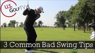 3 Common Suggestions That Are Terrible Golf Tips