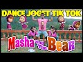 Dj Masha And The Bear Tik Tok Remix Dance Goyang Joget Zumba Senam Viral Terbaru  Mp3 - Mp4 Download