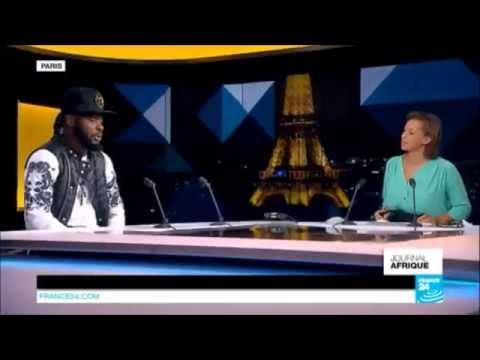 Dj Arafat invité du journal de l'Afrique de france24