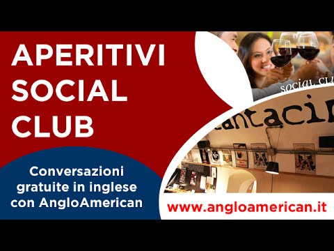 AngloAmerican Social Club. Impara l'inglese con Noi!