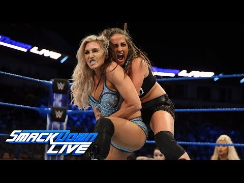 Charlotte Flair vs. Sarah Logan: SmackDown LIVE, Feb. 13, 2018