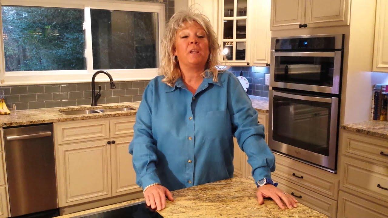 Paula deen impersonator - YouTube