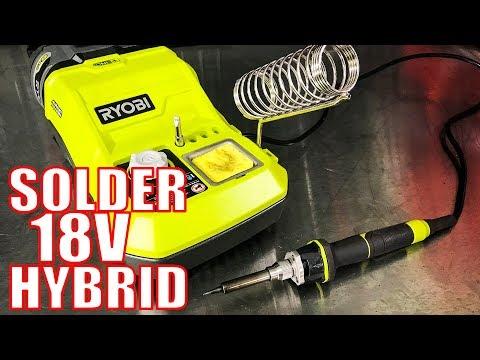 Ryobi P3100 18V Hybrid Solder Station Video Review