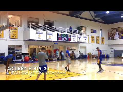 Stephen Curry shoot Routine