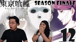 Tokyo Ghoul Season 1 Episode 12 Reaction and Review! KANEKI VS JASON! SEASON FINALE 🔥