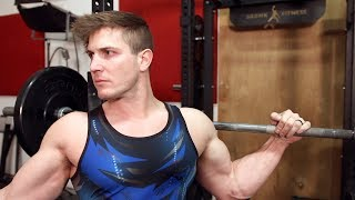 Push Through The Pain! (Chest, Shoulders, Traps, Triceps) | Breaking The Natty Limit vLog #4