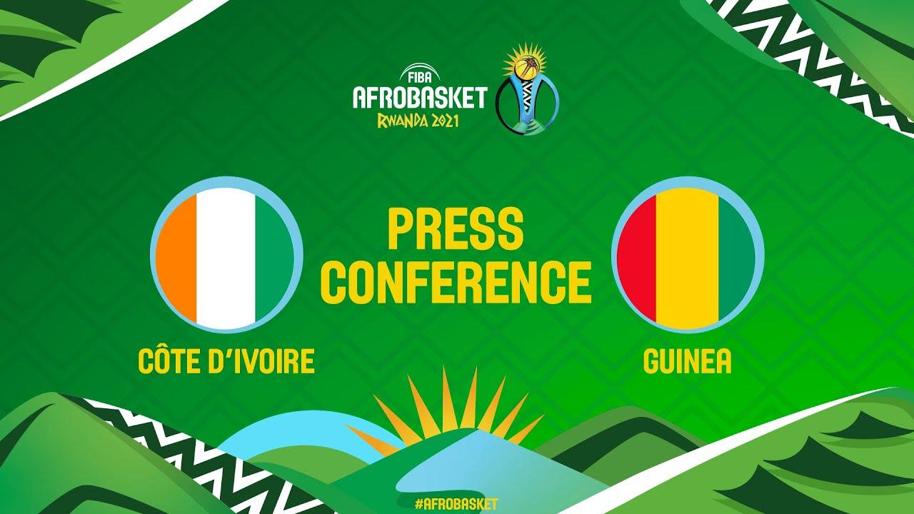 Cote d'Ivoire v Guinea - Press Conference - FIBA AfroBasket 2021