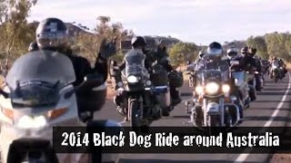 2014 Black Dog Ride around Australia Documentary [low res]