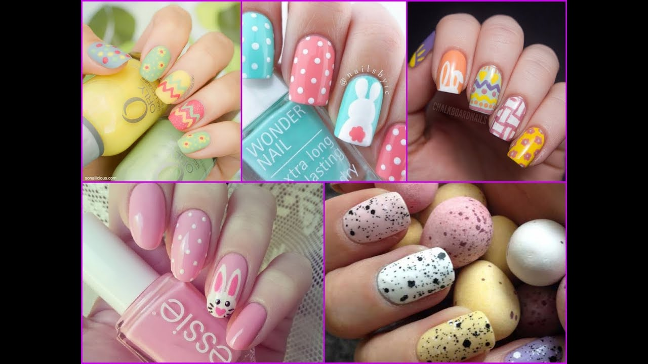 top-50 amazing easter nail art
