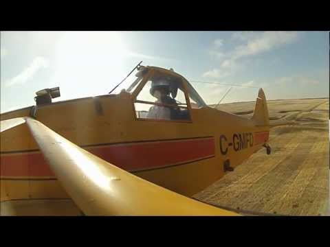 Battlefords Airspray 2012 (aerial spraying training)