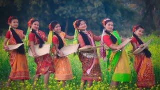 Kushan Dance Video 2019 | Koch Rajbanshi Folk Dance | Bhaowaiya Dance | Joyjit Dance