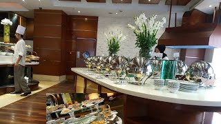 Breakfast buffet at Park Lane Hotel Lahore