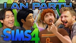 Sims 4 - House Party - LAN Party