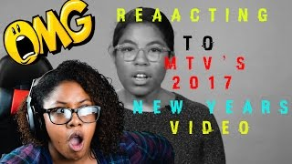 Reacting to  MTV News  2017 New Years Resolutions for White Guys