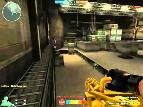 Crossfire Gatlin Gun Gold Gameplay