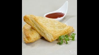 How to Make Veg Aloo Puffs Pastry