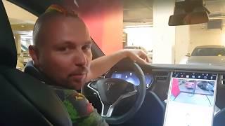 ПОКУПАЕМ Новую Машину Тесла Tesla Model X ? Автопилот в Машине ЭТО РЕАЛЬНО ? Максим Роговцев Обзор