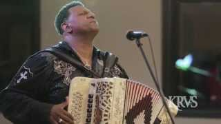 "KRVS - Chubby Carrier and the Bayou Swamp Band - ""Zydeco People"""