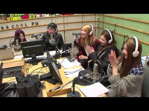 포미닛 4Minute 과 함께 하는 보이는 라디오 / 150216[장동민 레이디제인의 두시!]