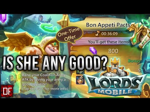 Bon Appeti Familiar Review! - Lords Mobile