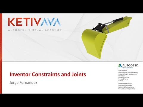 AVA: Inventor Constraints and Joints