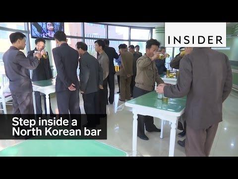 A bar in North Korea