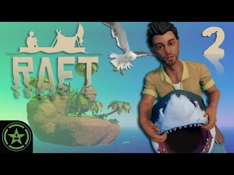 I Am Become Shark - Raft | Let's Play