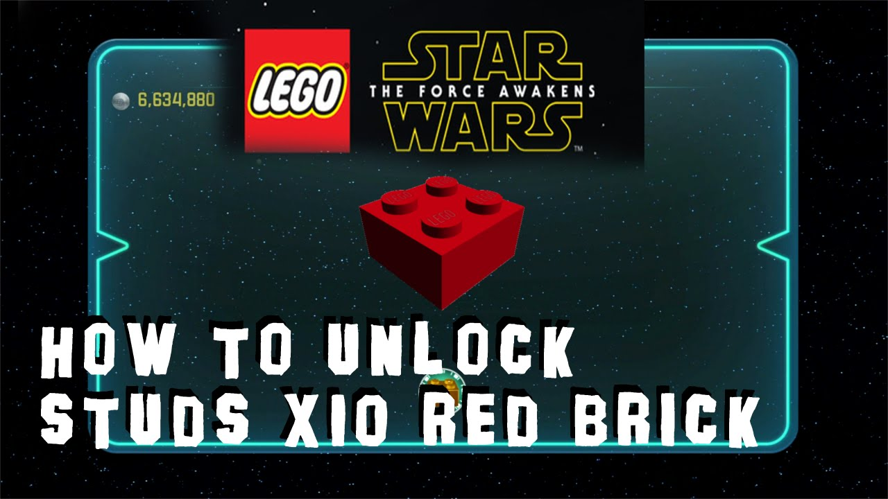 <b>Lego Star Wars</b>: The <b>Force Awakens</b> - How to Unlock Studs X10 Red ...