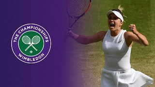 Wimbledon : Svitolina s'offre une première demi-finale en Grand Chelem