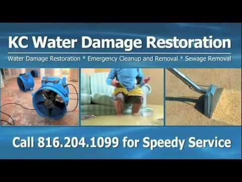 Water Damage Kansas City