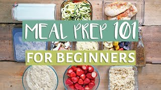 EASY MEAL PREP WITH ME! | Beginners Guide To Meal Prep