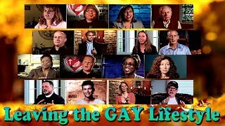 Leaving the GAY Lifestyle, Former Homosexuals Speak Out