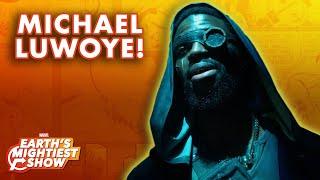Michael Luwoye Interview & Marvel Karaoke Challenge! | Earth