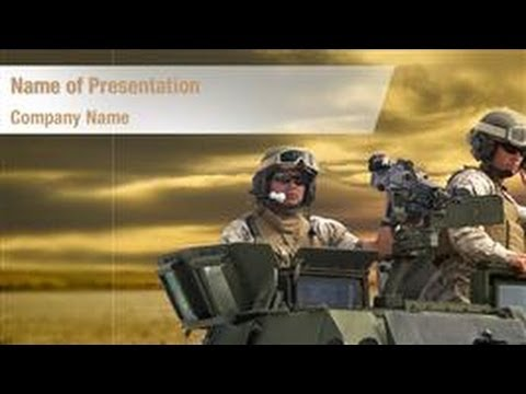 Army Soldiers Powerpoint Template Backgrounds Digitalofficepro