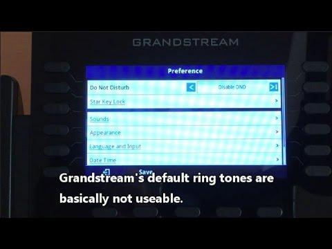 Grandstream Ring Tones