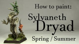 Download Mamtu How To Paint Waldelfen Sylvaneth Dryad Winter