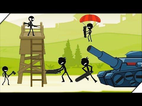 СТИКМЕНЫ С БЕНЗОПИЛАМИ. Битва стикменов - Игра Stickman Fight Обзор и прохождение.  Игры на андроид