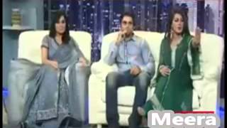 Meera & Pakistani stage actress Laila Scandal Video Leaked