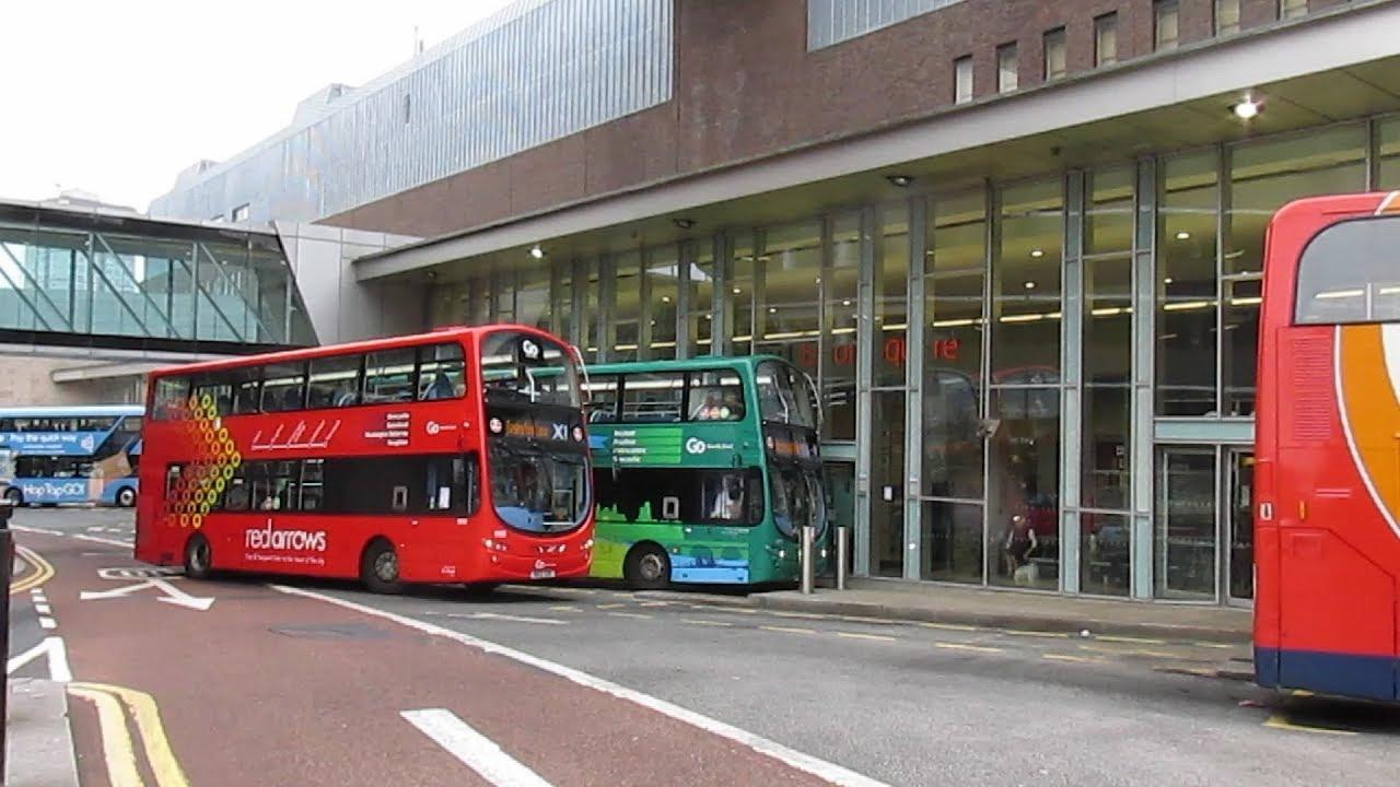 Newcastle Eldon Square Bus Station 2018