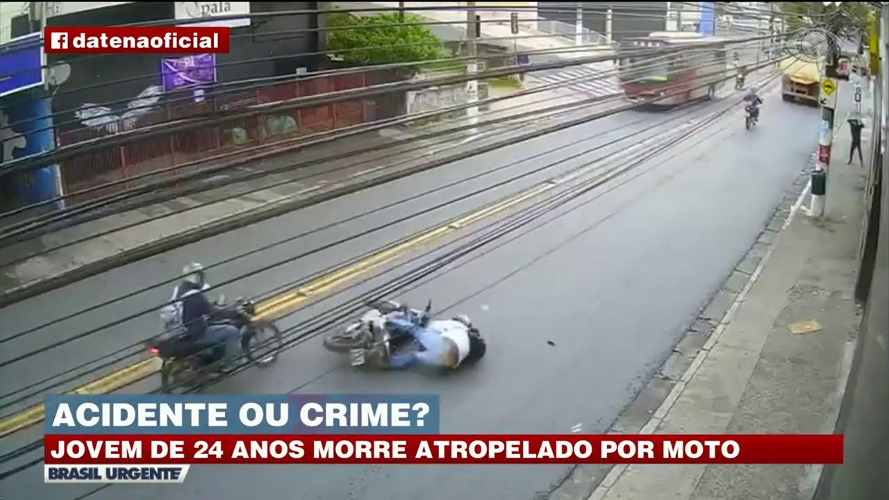 RAPAZ MORRE ATROPELADO POR MOTOQUEIRO